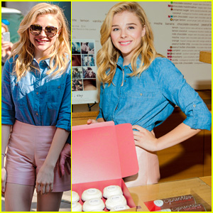 Chloe Moretz Receives Warm Welcome at 'If I Stay' Cupcake Event in Chicago