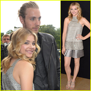 Chloe Moretz Brings Brother Trevor to Armani Prive Show