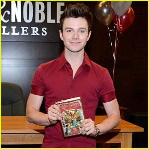 Chris Colfer is a New York Times Bestselling Series Author!