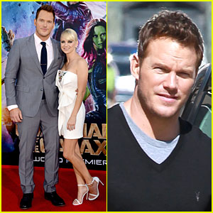 Chris Pratt Is Definitely the Leading Man By Anna Faris' Side at 'Guardians of the Galaxy' Premiere!