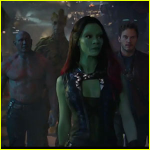 Chris Pratt & Zoe Saldana's Extended 'Guardians of the Galaxy' Trailer Gets Us So Excited - Watch Now!