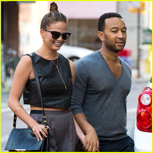 Chrissy Teigen Has Her Own 'Snack-Off' with John Legend!