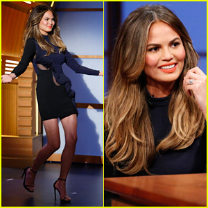 Chrissy Teigen on Late Night with Seth Meyers: 'I Don't Take Modeling Very Seriously'