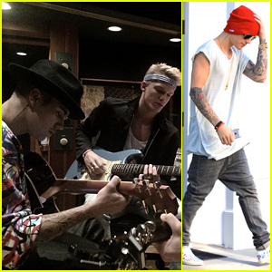 Justin Bieber Hits Studio with Cody Simpson for 'Special Project'