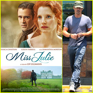 Colin Farrell & Jessica Chastain Featured in Brand New 'Miss Julie' Images