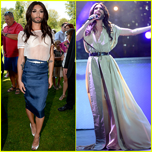 Conchita Wurst Belts Out Cher's Hit Song 'Believe' - Watch Now!