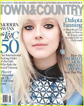 Dakota Fanning to 'Town & Country': I'm Never Going to Parade My Personal Life