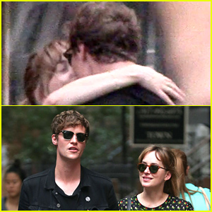 Dakota Johnson Kisses Rumored Boyfriend Matthew Hitt - See the Pic!