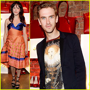 Dan Stevens & Jessica Brown Findlay Have a Mini 'Downton Abbey' Reunion!