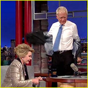David Letterman Walks Out on Joan Rivers During 'Letterman'! (Video)