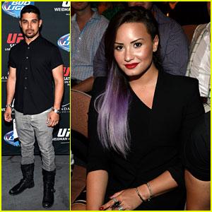 Demi Lovato Boyfriend Wilmer Valderrama Check Out The Ufc Fight Together