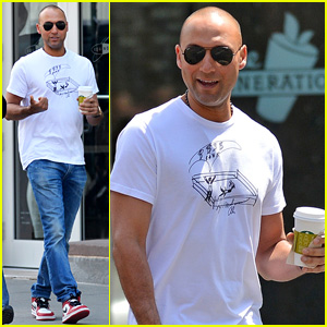 Derek Jeter Steps Out After Big 40th Birthday Party in NYC!