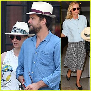 Diane Kruger & Joshua Jackson Wear Matching Hats in New York