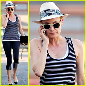 Diane Kruger Starts Her Week Off with an Invigorating Workout!
