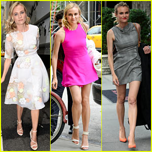 Diane Kruger Wears Three Chic Dresses in One Morning!