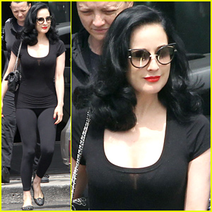 Dita Von Teese is Taking a Trip to Ibiza & Performing Her Act While in Town!