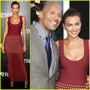 Dwayne 'The Rock' Johnson & Irina Shayk Crush Into Hollywood with 'Hercules' Premiere!