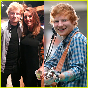 Ed Sheeran Performs on 'Today Show' to Kick Off 4th of July!
