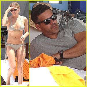 Eddie Cibrian Gets Nice View of LeAnn Rimes' Sexy Bikini Body