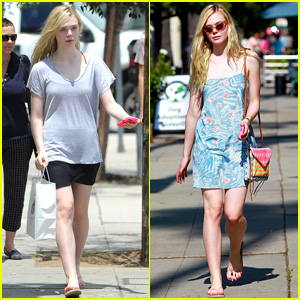 Elle Fanning Goes From Comfortable to Cute Flawlessly