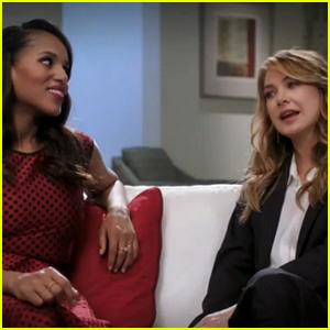 Kerry Washington, Ellen Pompeo, & Viola Davis Promote Shonda Rhimes' ABC Thursdays - Watch Now!
