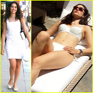 Emmy Rossum Shows Off Her Figure for National Bikini Day!