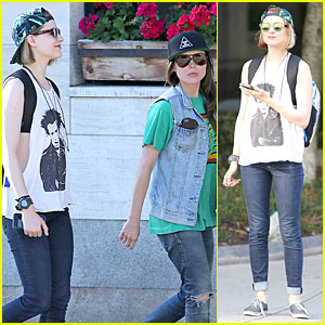 Evan Rachel Wood & Ellen Page Grab Dinner Before Shooting 'Into the Forest'