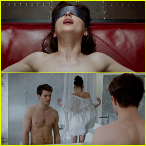 'Fifty Shades of Grey' Trailer Starring Shirtless Jamie Dornan & Dakota Johnson is Here & It's Super Steamy - Watch Now!