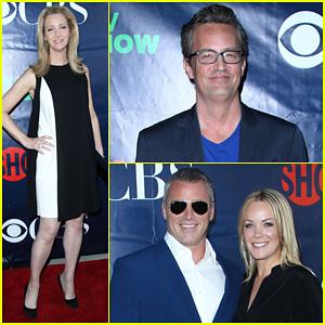 'Friends' Stars Lisa Kudrow, Matthew Perry, & Matt LeBlanc Attend Summer TCA Press Tour 2014!
