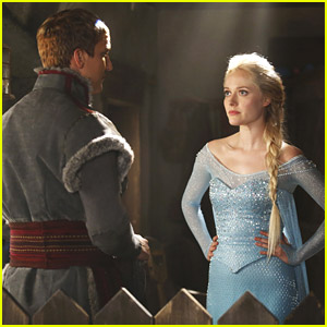Georgina Haig as Elsa on 'Once Upon A Time' - First Official Photo!