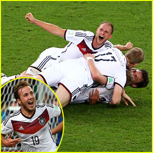 Germany Beats Argentina in World Cup 2014 Final - See Pics From the Game!