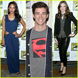 Grant Gustin 'Flash'es Into Comic-Con 2014