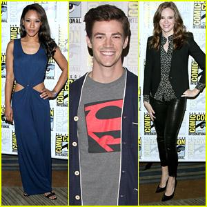 Grant Gustin 'Flash'es Into Comic-Con 2014