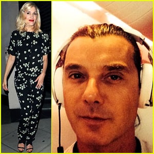 Gwen Stefani & Gavin Rossdale Head on Vacation with Family!