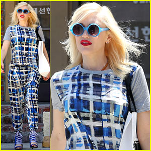 Gwen Stefani's Very Bold Outfit Makes a Statement in L.A.