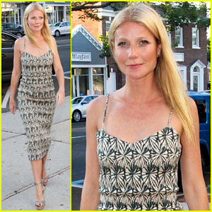 Gwyneth Paltrow Steps Out in East Hampton for 'Hector and the Search for Happiness' Screening!