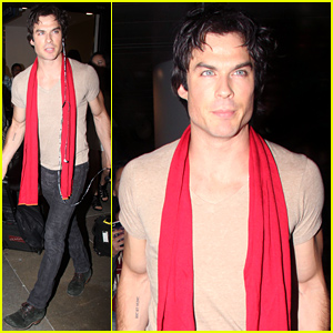 Ian Somerhalder Heads to Comic-Con After Looking Lovey Dovey with Rumored Girlfriend Nikki Reed