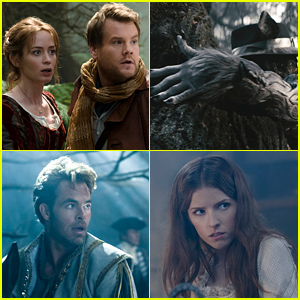 'Into the Woods' First Look Images Revealed! See Johnny Depp, Emily Blunt & More In Character