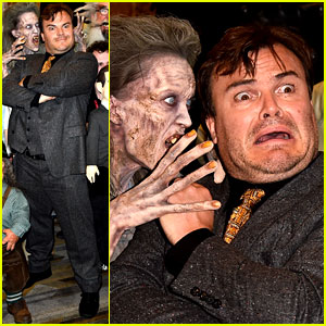 Jack Black Can't Go Incognito at Comic-Con, Even in a Mask!