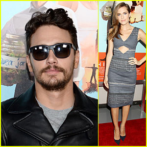 James Franco & Allison Williams Support Zach Braff's 'Wish I Was Here' in NYC