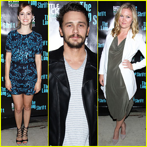 James Franco Celebrates Opening Night of his Off-Broadway Play 'The Long Shrift' with Ahna O'Reilly!
