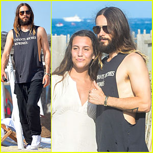 Jared Leto Is Such a Cool Rock Star in Saint Tropez