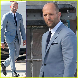 Jason Statham Is Seriously Dapper For L.A. Photo Shoot!