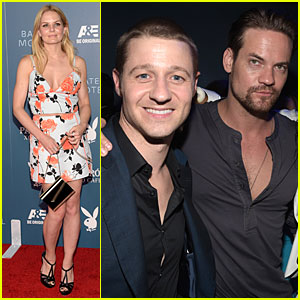 Jennifer Morrison & Ben McKenzie Hit Up Playboy Comic-Con Party
