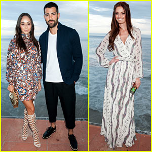 Jesse Metcalfe & Cara Santana Couple Up at Just Jared x REVOLVE Dinner in Malibu!