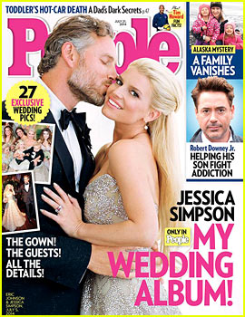 Jessica Simpson's Wedding Photo to Eric Johnson - See the Pic Here!
