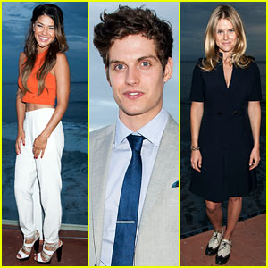 Jessica Szohr & Alice Eve Keep it Chic at Just Jared x REVOLVE Dinner in Malibu