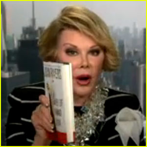 Joan Rivers Walks Out on CNN Interview - Watch It Here!