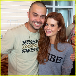 Once Upon a Time's JoAnna Garcia Joins Hubby Nick Swisher at 'Mission Swisher' Scavenger Hunt! (Exclusive Pics)