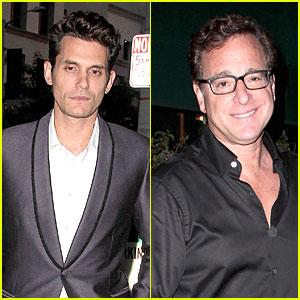 John Mayer Looks Dashing For Dinner at Craig's